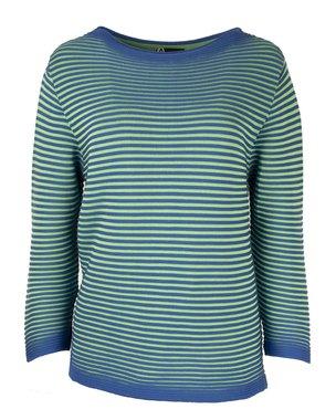 EO-design Trui blauw groen