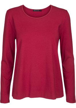 Two Danes Betty shirt lange mouw chili rood 25511-258