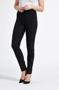 Laurie broek, model Vicky Slim basis viscose zwart 27016-99970