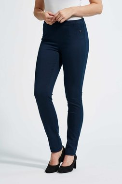 Laurie broek, model Vicky Slim basis katoen donker blauw 29311-49200