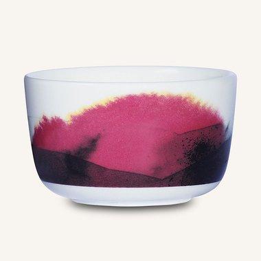 Marimekko servies Oiva schaaltje zwart/geel/rose 2,5 dl 067070-166