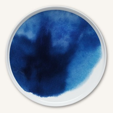 Marimekko servies Oiva bord 25 cm blauw 066008-170