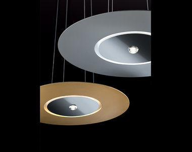 Cini & Nils hanglamp Passepartout55, mat wit, mat zwart, mat chroom, mat messing, gepolijst chroom, gepolijst messing