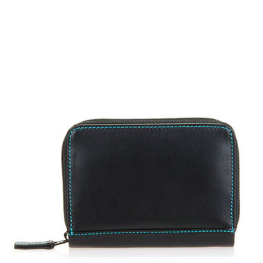 MyWalit Zip Around Credit Card Holder RFID Black Pace 1432-4
