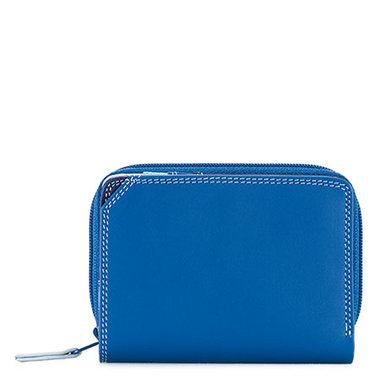MyWalit Small Zip Around Wallet Denim 226-130