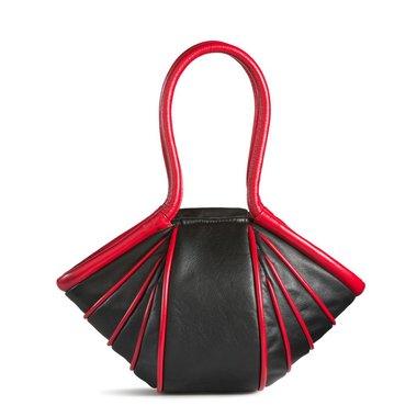 by-Lin Tas Ladystripe zwart/rood 140916 lieveheersbeestje gestreept