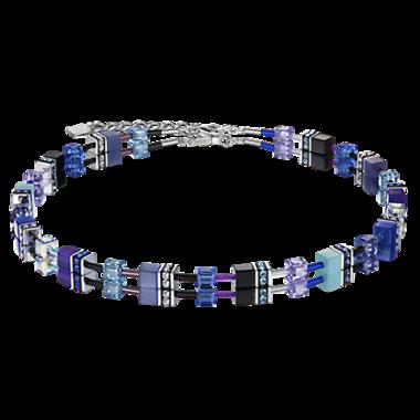Coeur de Lion Ketting 2838/ /0708 Blue-Purple