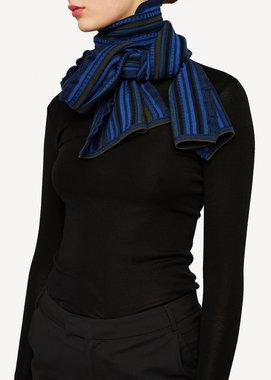 Oleana Sjaal 346 W donker blauw
