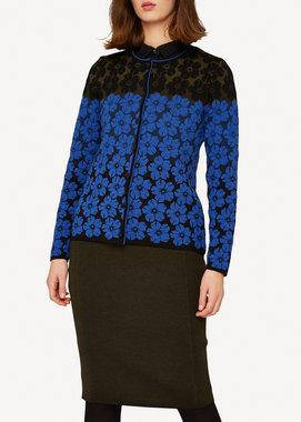 Oleana Cardigan 350 W blue black