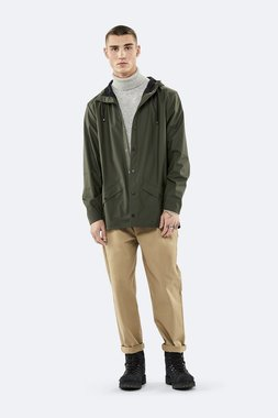 Rains Regenjas Jacket unisex green 1201-03
