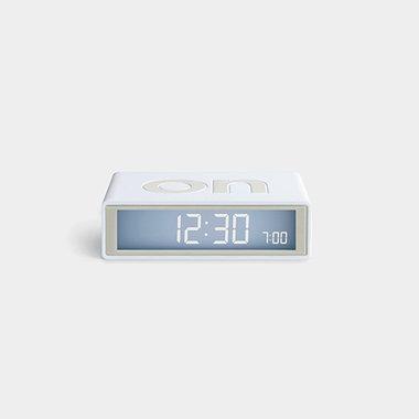 LEXON Flip Travel Clock Wit LR151W9