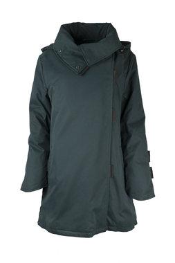 Herluf design Rikke winterjas donker groen