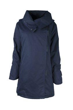 Herluf design Rikke winterjas donker blauw