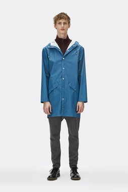 Rains Regenjas Long Jacket unisex faded blue 1202-42