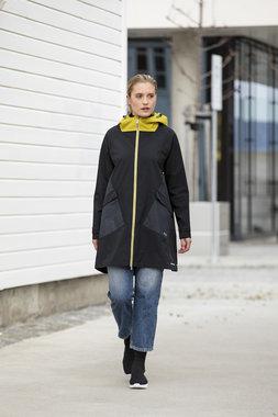 Blaest regenjas model Amsterdam zwart