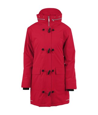 Blaest winter regenjas model Montreal rood