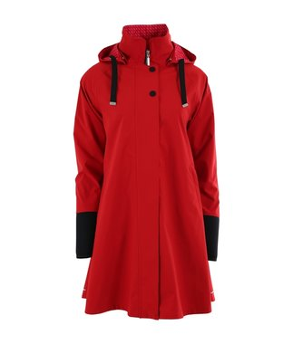 Blaest regenjas model Firenze rood