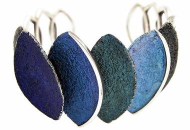 Arior Smile armband blauw