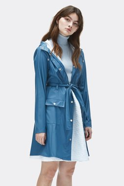 Rains Regenjas Curve Jacket faded blue 1206-42