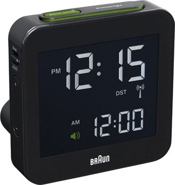 Braun digital clocks – BNC009BK-RC - wekker zwart