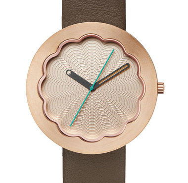 Project Watches Scallop Rose Gold 6601RG