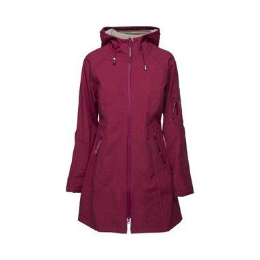 Ilse Jacobsen Rain Coat 37 Cherry/Light Sand