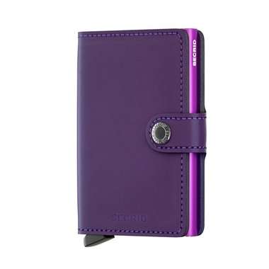 Secrid Miniwallet M Matte Purple portemonnee