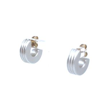 Otracosa oorbellen rond zilver CR4 1,5 cm