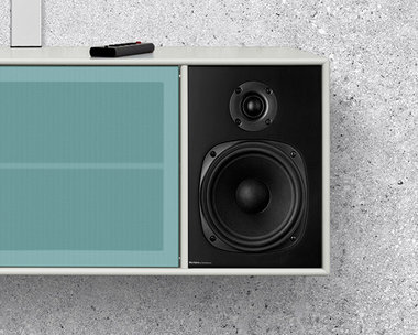 Montana meubel kasten systeem TV & Sound luidspreker, speaker medium set van 2