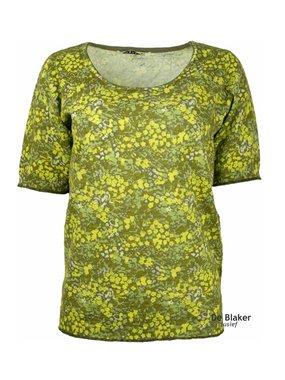 Mansted kleding Flossie shirt geel/groen