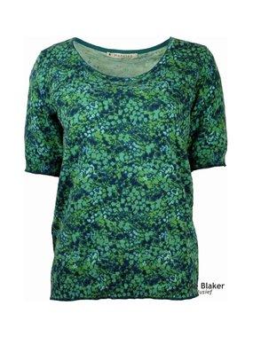Mansted kleding Flossie shirt blauw/groen