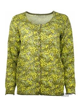 Mansted kleding Flo vest geel/groen