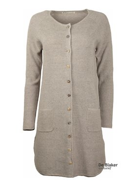 Mansted kleding Nesca Lang Vest licht grijs