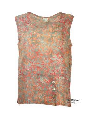 Unikat Artwear kleding top 201 oranje