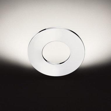 Cini & Nils wandlamp Passepartout, mat wit, mat zwart, chroom of messing