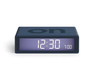 LEXON Flip Clock 2 Trendy Blue LR130BF7