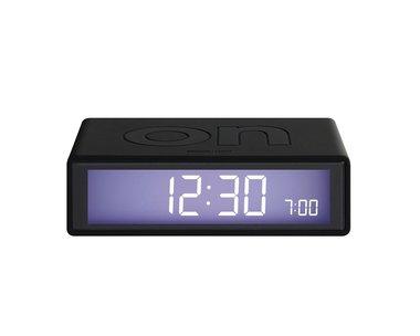 LEXON Flip Clock 2 Metal Black LR130.MN