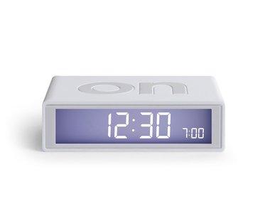 LEXON Flip Clock 2 Mastic Grey LR130W7
