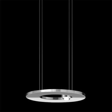 Cini & Nils hanglamp Passepartout25, mat wit, mat zwart, chroom, messing,