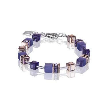 Coeur de Lion Armband 4016/ /0800 Purple