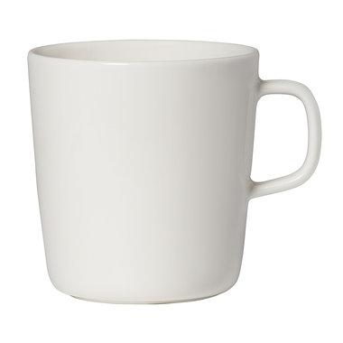 Marimekko servies Oiva beker groot wit 4 dl 067496-100