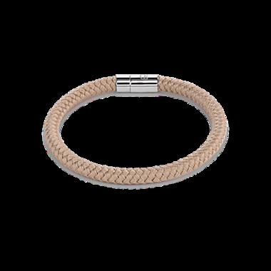 Coeur de Lion Armband 0115/ /1000 Braided Beige