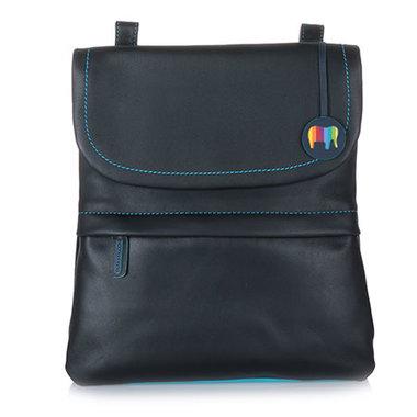 MyWalit Medium Backpack/Messenger Bag Black Pace 1821-4