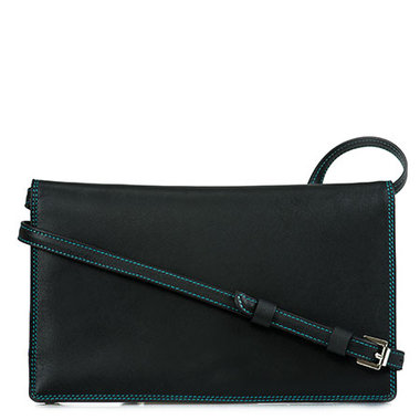 MyWalit Shoulder Travel Wallet Black Pace 548-4