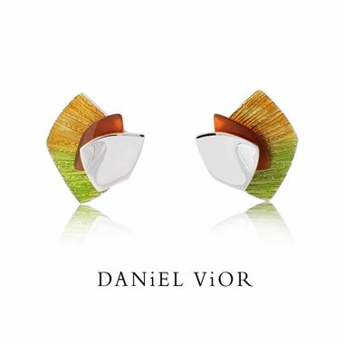Daniel Vior Oorbellen Alula Imbricata 736080