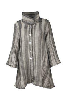 Ralston Erki blouse lang grijs