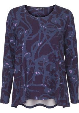 Two Danes Birka T-shirt Dark Purple/Iris Blue/Lilac 95552-P948