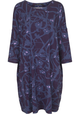 Two Danes Botelle Tunic Dark Purple/Iris Blue/Lilac 93662-P948