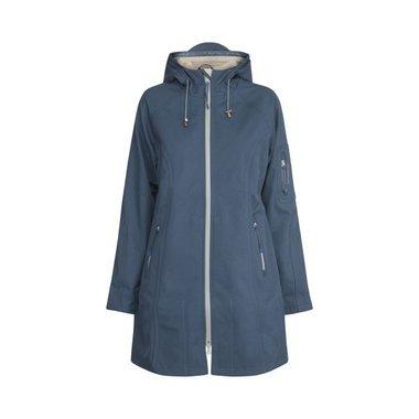 Ilse Jacobsen Rain Coat 37B 691151 Blue Rock