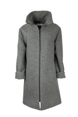 Herluf design Lido winterjas licht grijs